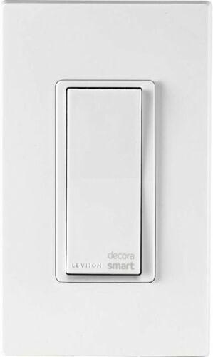 Leviton - Decora Smart WiFi Switch - White (Model # R02-DW15S-2RW)