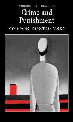 Crime and Punishment Fyodor Dostoyevsky Wordsworth New Book Free UK Postage