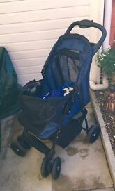 Dog pushchair - Good condition - hardy used
