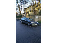 mercedes w140 s320L sclass mot in daily use
