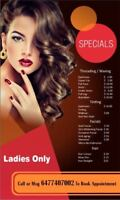 In Brampton WAXING FACIALS HAIR COLOR and MASSAGE
