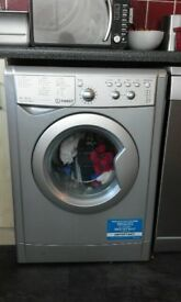 Indesit IWDC6125S Freestanding Washer Dryer, 6kg wash, 5kg dry, excellent condition, only £250