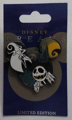 Disney Pin DLR Disney Dreams Sammlung Jack Skellington & Null Le 1000