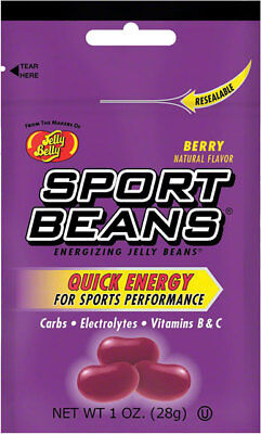 (New Jelly Belly Sport Beans: Berry Box of 24)