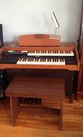 piano- orgue électronique