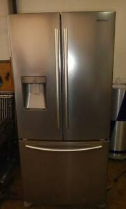Samsung 579L S/S 3 door  Fridge/ Freezer (Includes Delivery) Wingfield Port Adelaide Area Preview