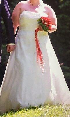 Traumhaftes Brautkleid von Ladybird - Gr. 54 - Hochzeit / Hochzeitskleid - TOP
