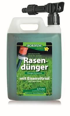 Flüssiger Rasendünger HO40117 Konzentrat 2,5 Liter Rasen Dünger