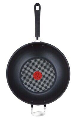Jamie Oliver Non-Stick Wok / Stir Fry Pan, Hard Anodised Induction, 30cm - Large