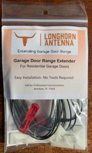 Long Horn Antenna Garage Door Antenna Range Extender Kit (Hardware Included)
