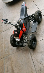 MINI ELECTRIC QUAD/ATV GREAT FOR A NEW PROJECT