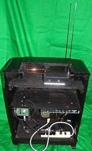 THEREMIN avec / with amplifier amp digital delay antique cabinet West Island Greater Montréal image 7