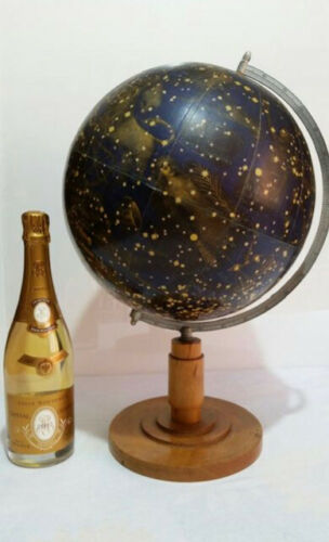Early 1900 Himmelglobus, star globe, celestial globe Paul Rath