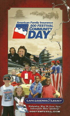 2009 Tony Kanaan Marco Andretti Community Day Handout