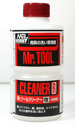 MR HOBBY Gunze T113 Tool Cleaner MODEL PAINT 250ML TOOL SUPPLY US - Hobby Tool Supply