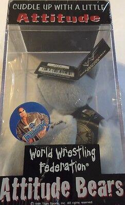 WWF The ROCK Attitude Bear, New