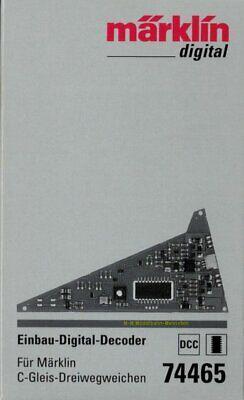 **Märklin 74465 Einbau-Digital-Decoder f. Märklin C-Gleis Dreiwegweichen 24630**, gebraucht gebraucht kaufen  Deutschland