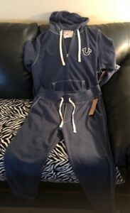 True Religion sweatsuit grey