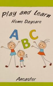 Play and Learn Home Child Care