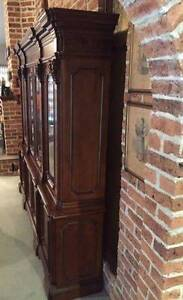Antique Vintage Style Italian  Free  Standing Cabinet  – Mahogany St Ives Chase Ku-ring-gai Area Preview