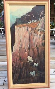 Bill Sinclair original oil painting