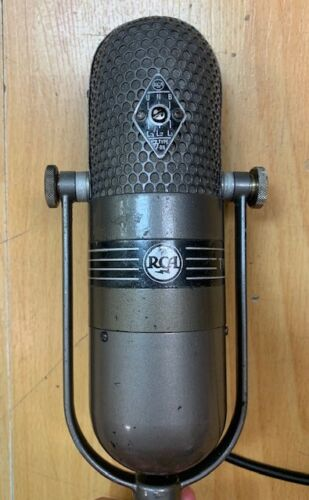 "RCA TYPE 77-DX Vintage Ribbon Microphone ""ORIGINAL FACTORY"" ! 1940"