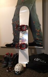 How low can the price go!  Awesome, Complete Snowboard Package!