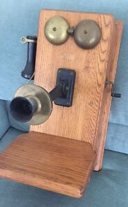 Antique Crank Telephone West Island Greater Montréal image 2