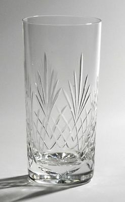 Hi Ball Semi Cut Crystal Glass Free Engraving Dishwasher Safe Gift Boxed MPN103