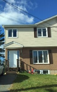 Lower Sackville Semi With Access to First Lake,  April 1st
