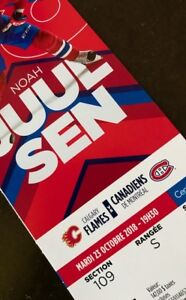 Billets Canadiens vs Flames - 23 oct - 140$ ROUGE section 109