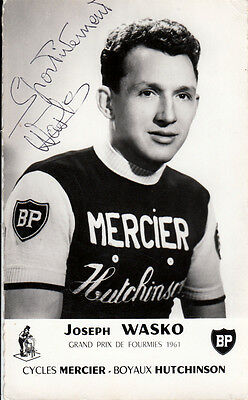 Joseph Wasko (FRA) BP Mercier Tour de France original signiert/signed !!!