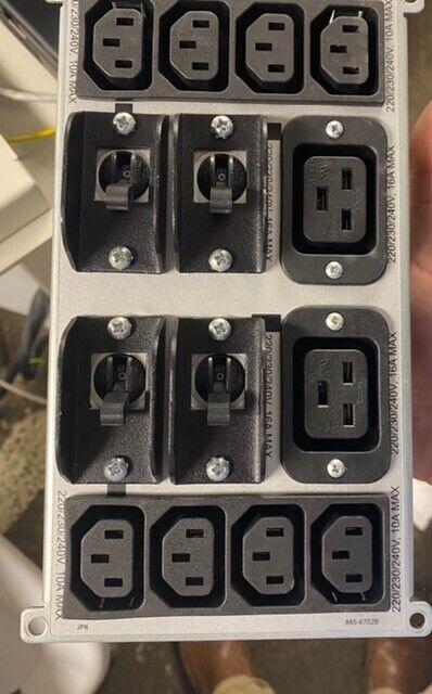 APC Symmetra RM 220/230/240v / 16a Backplate