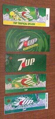 Soda Machine Flavor Strip Labels Variety 7up Canada Dry Sprite Zero Sierra Mist