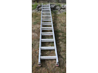 Clima 735 double extension ladder