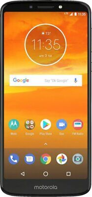 Motorola Moto E5 Plus with 32GB Memory Cell Phone Black A