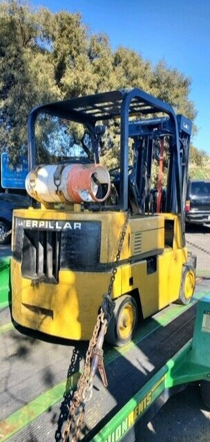 Caterpillar Forklift, Used, 48 Forks,  - $3,100.00
