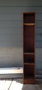 Old school tall thin shelf! :)