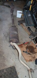 0 IIIII 0  2006 Jeep TJ complete exhaust off 2.4ltr . 0 IIIII 0 Peterborough Peterborough Area image 1