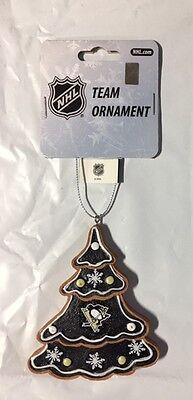 - Pittsburgh Penguins Gingerbread Tree Christmas Tree Xmas Ornament NEW - TREE