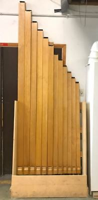 Vintage Estey Wood Oboe Organ Pipes