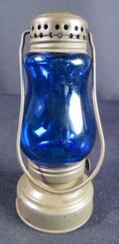 1880-1900 Blue Globe Petite Tin/Zinc Skater