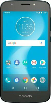 Motorola Moto e5 XT1921 CRUISE 16GB 4G LTE Cricket Wireless Smartphone  Dual Band Quad Band