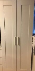 Ikea wardrobe dismantled for storage and travel