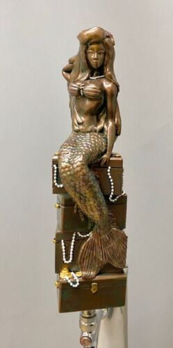 """""""MERMAID"""" ~ BAR BEER TAP HANDLE  DIRECT FROM RON LEE CASTING"""