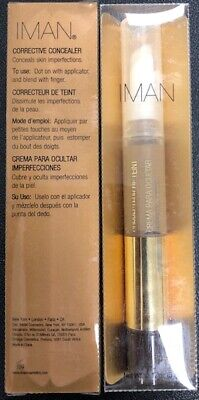 2 Pack ofIman Cosmetics Corrective Concealer, Earth .17oz each - free shipping