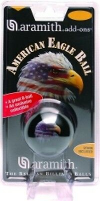 New Aramith Eagle 8 Ball   Black 2 1 4  Standard Pool Ball Or Use As Cue Ball