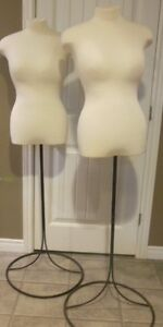Mannequin/ bust for fashion display with stand London Ontario image 4