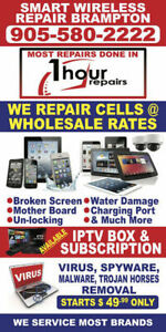 SCREEN REPAIR FOR I PHONE, I POD, I PAD, MAC BOOK AND MUCH MORE
