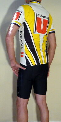 Système U Bicycle Jersey USA Size Equivalent Medium GREAT VALUE! (Cycling Value T-shirt)